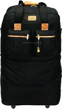 """30"""" Large Expandable Rolling Wheeled Duffel Spinner Suitcase Duffel Bag Luggage"""