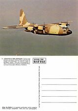 C130 Hercules postcard - mint condition, never posted.