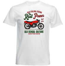 VINTAGE ITALIAN MOTORCYCLE MOTO GUZZI 254 - NEW COTTON T-SHIRT