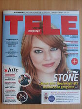 EMMA STONE on front cover TELE MAGAZYN 17/2016