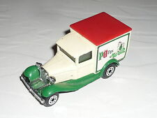 1:64 Matchbox Ford Model A Van PG Tips n T Transit Courier Econoline Connect