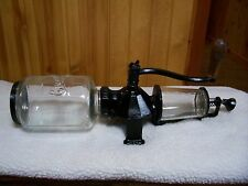 Arcade Crystal # 4 Wall Mount Coffee Grinder/Catch Cup not orig./Excellent Cond