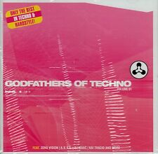 GODFATHERS OF TECHNO - VOLUME 1 / VARIOUS ARTISTS / 2 CD-SET - NEU