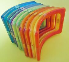 10 Magnetic building toy SET OF 10 ARCHES Rainbow   toy US SELLER