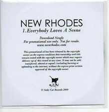 (223A) New Rhodes, Everybody Love A Scene - DJ CD