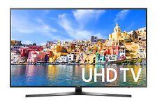 "Samsung UN49KU7000 49"" Black LED UHD 4K Smart HDTV - UN49KU7000FXZA"