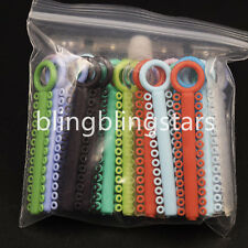 Dental Orthodontics Elastic Ligature Ties Separators Multi Color 1 Pack 1040 Pcs