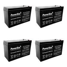 PACK OF 4 - 12V Volt 9Ah Batteries for RAZOR Scooter ES300 E200 E300