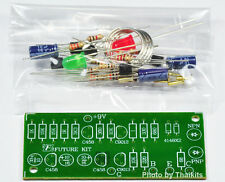 Basic In Circuit Transistor Tester NPN/PNP  2 x LED UN-Assembled Kit  [ FK907 ]
