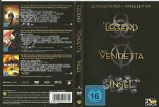 Science Fiction - Triple Edition / IamLegend / Die Insel /VwieVendetta DVD #4112