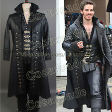 Once Upon A Time Captain Hook Killian Jones Cosplay Costume Attire Outfit Suit