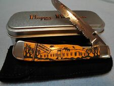 Case Knife - Halloween Trapperlock 6154L - Made 2008 - Factory Fresh Sealed Tin