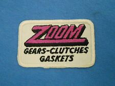 Vintage ZOOM Gears Clutches Gaskets Patch Auto Parts Truck Mechanic Racing Speed