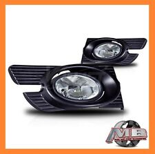 WINJET 98-02 HONDA ACCORD 4DR FOG LIGHT - CLEAR (WIRING KIT INCLUDED)