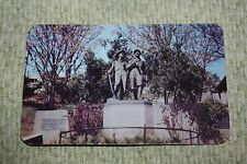Vintage Postcard The Tom And Huck Statue, Foot Of Cardiff Hill, Chicago, Ill.