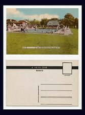 UK SUSSEX BURGESS HILL ST JOHN'S PARK AND SWIMMING POOL 1950'S
