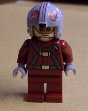 Lego Star Wars T-16 Skyhopper Pilot Figur ( 75081 rot T16 Fighter ) Neu