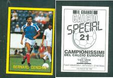 Bernard Genghini(France) Rare Italian Issue 1988 Football New Grande Calcio n.16