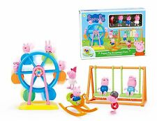 Peppa Pig Ferris Wheel Fair Park Playset Toy Set with 4 Pcs Peppa Pig Friends