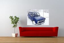 PHOTO TRANSPORT SOVIET LADA VAZ 2101 CLASSIC  CAR GIANT ART POSTER NOR1035