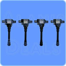 New Premium High Performance Ignition Coil Set (4) For Altima Sentra 2013-2015