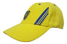 Club Atletico Boca Juniors Hat Cap New W/Tags Official Product BOC-A05-Y Yellow