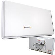 Selfsat H30D4 Quad Flat antenna Sat Mirror Antenna HDTV 3D Sky 4 Subscriber