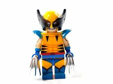 Custom Minifigure Marvel X-Men WOLVERINE #6 & free LEGO brick.UK