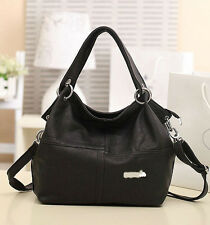 New Women Shoulder Bag Tote Purse Handbag Messenger PU Leather Crossbody Satchel