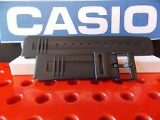 Casio Watch Band CA-56, LDF-40, DBC-V50, DB-V30 Black Rubber Calculator Strap