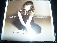 Mariah Carey Without You / Never Forget You Australian CD Single