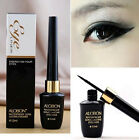 Waterproof Make Up Black Liquid Eyeliner + Eye Liner Pencil Pen Comestics Set