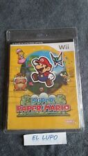 GUIDE OFFICIEL SUPER PAPER MARIO NINTENDO WII NEUF SOUS BLISTER VF