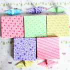 150 Sheets Square Origami Paper Crane Folding Colorful DIY Craft 6.5*6.5cm