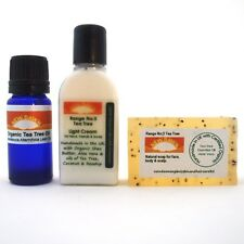 ACNE / BLACKHEADS REMOVAL SAMPLE PACK~SOAP CREAM & OIL~New Dawn Organic Remedies