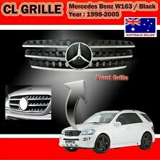 Mercedes Benz ML W163 98-05 Black Grille,W164 Look