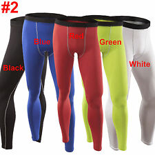 Men's Activewear Compression Tights Base Layer Gym Jogger Shorts Pants Trousers