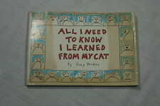 All I Need to Know I Learned from My Cat by Suzy Becker (1990, Paperback)