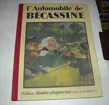 BD BECASSINE L'AUTOMOBILE PINCHON SEMAINE DE SUZETTE