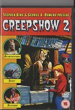 CREEPSHOW 2 DVD HORROR STEPHEN KING GEORGE A ROMERO HORROR