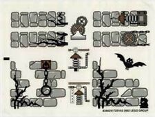 LEGO 1382 - Lego Studios - Scary Laboratory - STICKER SHEET