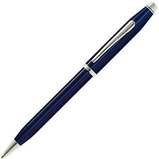 Cross Century II Translucent Blue Lacquer Ballpoint Pen AT0082WG-103