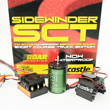 Castle Creations SV3 Sidewinder SC WP ESC w 3800kv Motor : Slash 4x4