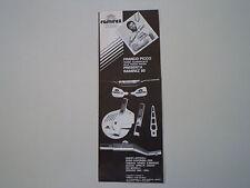 advertising Pubblicità 1985 RAMIREZ (GRANTORTO PADOVA) e FRANCO PICCO