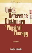 Quick Reference Dictionary for Physical Therapy-ExLibrary