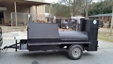 All Star Pro BBQ Smoker Cooker Grill Trailer food Catering Business Events Fair