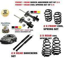 FOR HONDA CIVIC 2006-  2x FRONT 2X REAR SHOCK ABSORBER SET + 4X COIL SPRINGS KIT