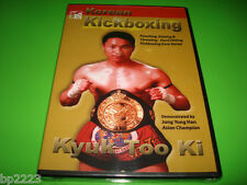 Korean Kickboxing: Kyuk Too Ki (DVD) by Asian Champion Jung Yong Han, BRAND NEW