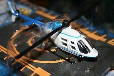 Runway24 RW055 Bell B206 Jetranger Police Helicopter 1:87 Scale Diecast Mint