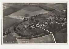 Avebury Aerial View of The Ring RP Postcard  198a